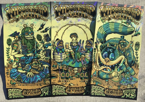 Image of Widespread Panic - Milwaukee WI - LAVA FOIL variant