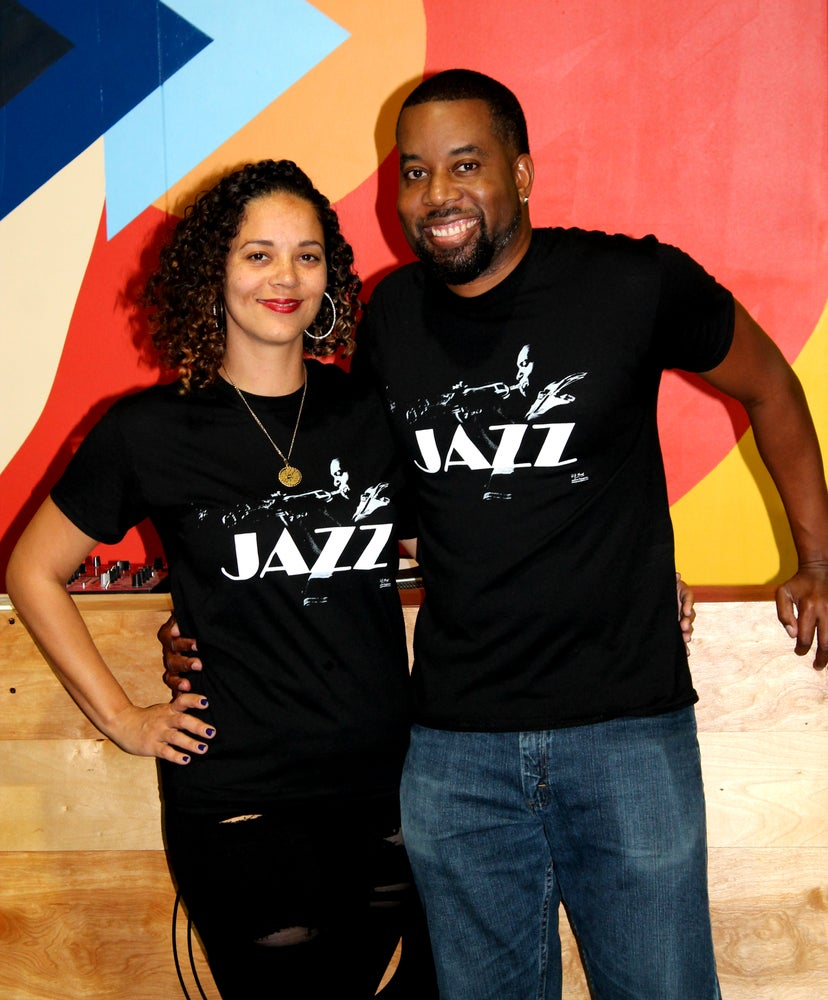 Image of JAZZ (Black T-Shirt)