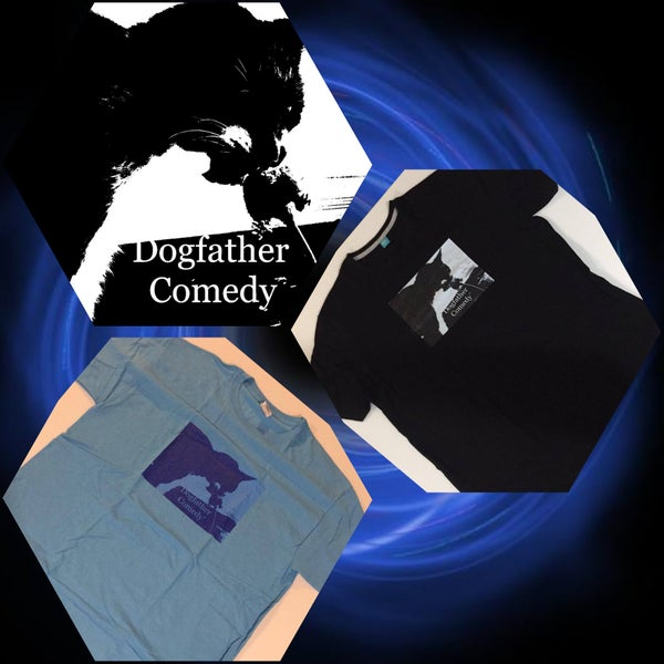 Image of Dogfather Comedy Shirt - Comedian Mick Gledhill