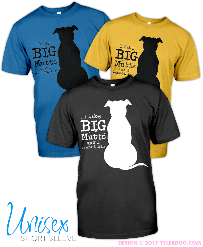Image of I Like Big Mutts T-Shirt 2XL-5XL