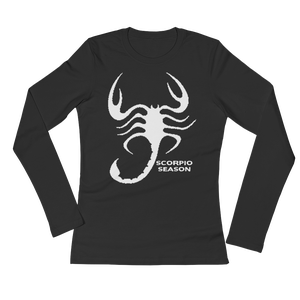 Image of Scorpio Season (Women's Long Sleeve Tee)