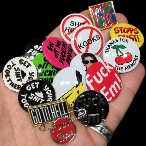 Image of 2009, 2010, & 2011 Pins & Buttons