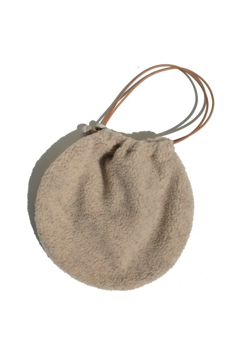 Image of circle tote - fleece