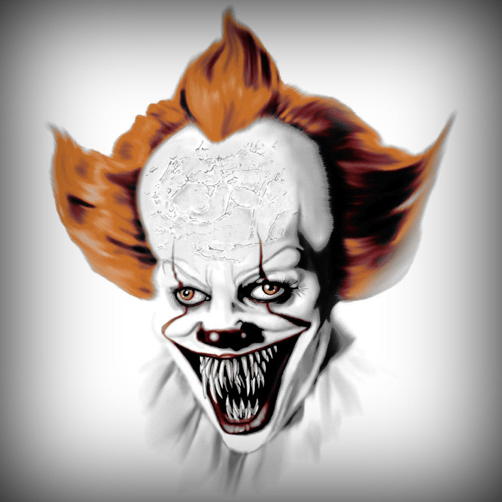 Image of Pennywise by Steve McGinnis
