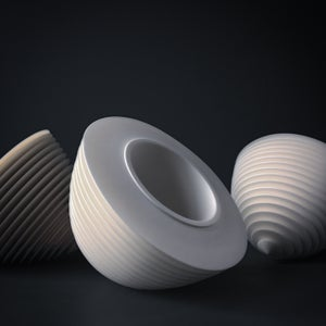 Image of Pair of 'Floating Bowls' by Nicholas Lees