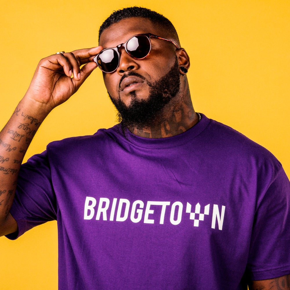 Image of BAJAN PURPLE T-SHIRT
