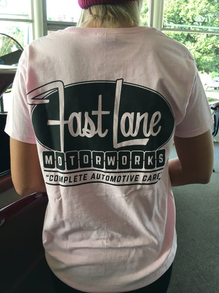 Image of Fast Lane Logo T-shirt womens