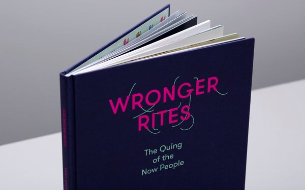Image of WRONGER RITES hardcover artistbook