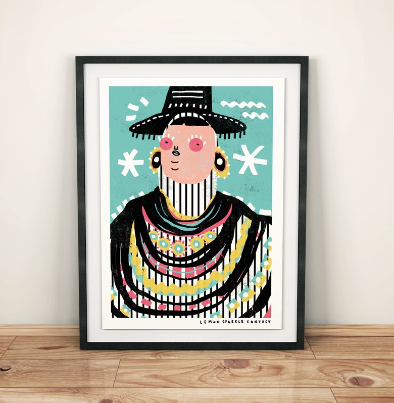 "Image of ""Fashion"" Print"