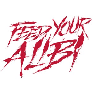 Image of FEED MY ALIBI BASEBALL TEE