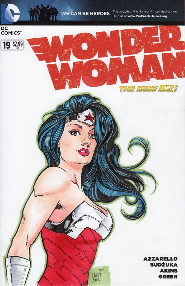 Image of Custom Sketch Cover - Full Color