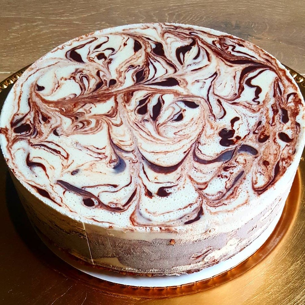 Image of Pre-Orders Only Available July 10th UN-Cheesecake™ White/Dark Chocolate Twirl & Swirl