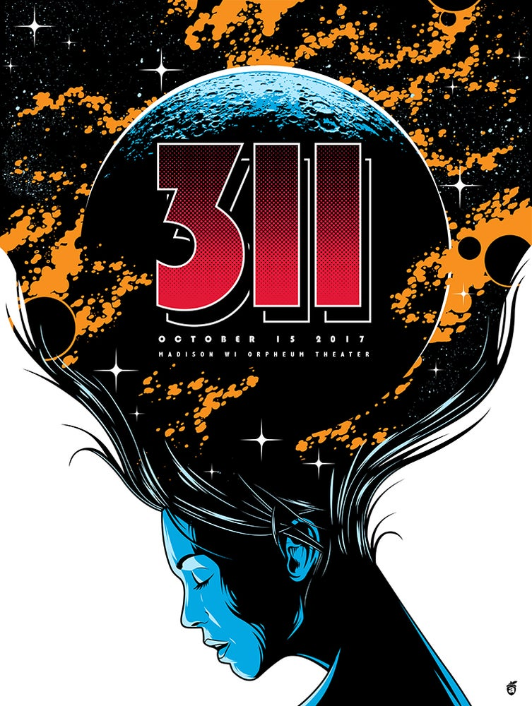 Image of 311 Madison, WI Poster