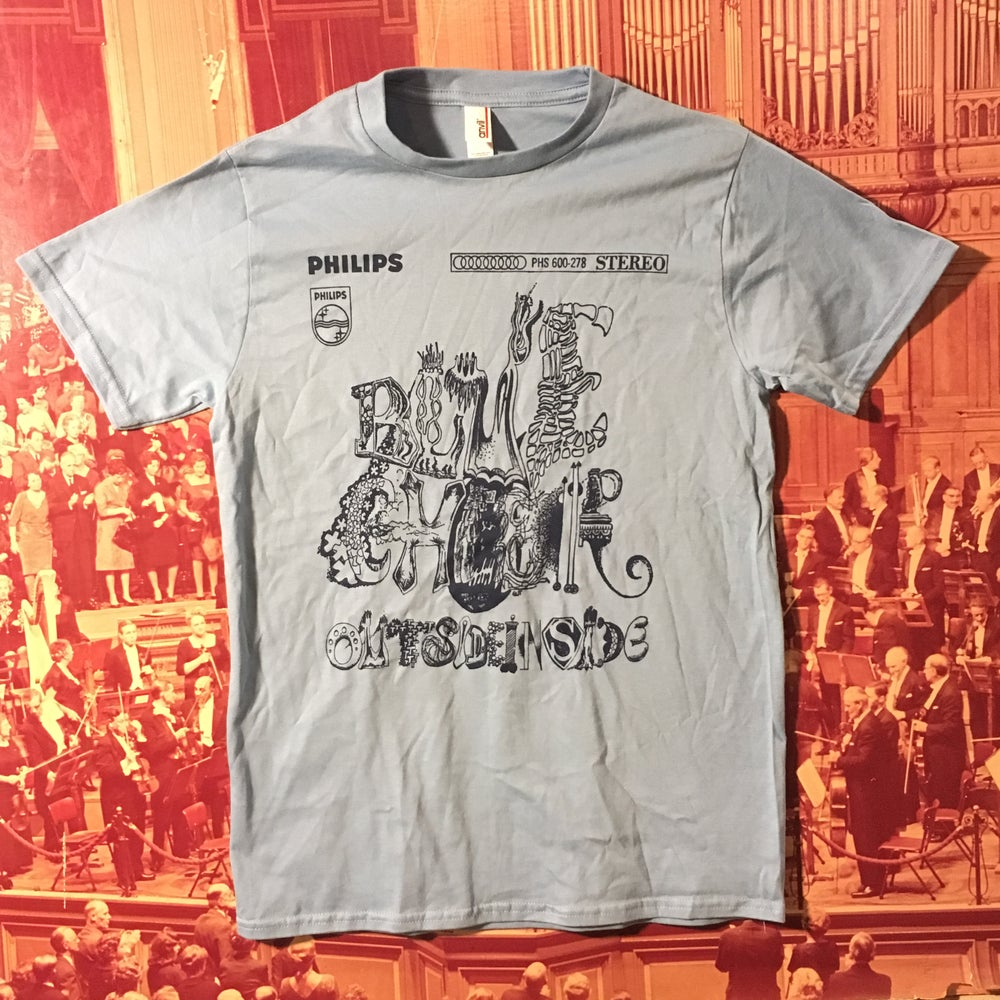 Image of BLUE CHEER OutsideInside Sticker Shirt *free shipping*
