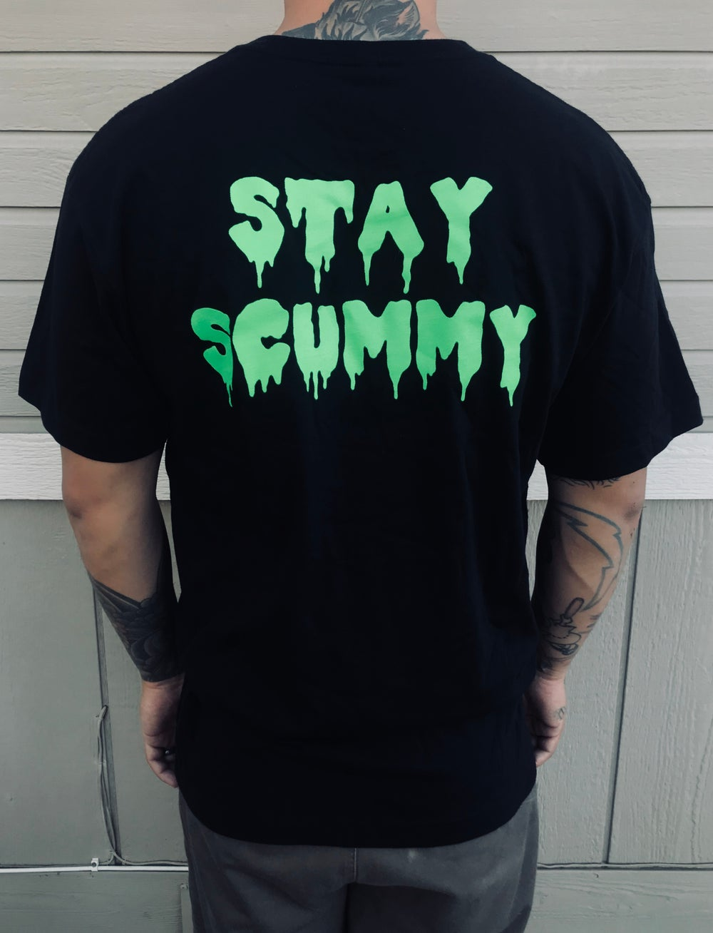 Image of STAY SCUMMY TEE