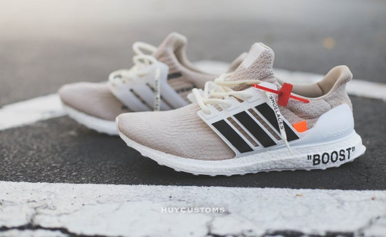 Image of OFF-White ultra boost custom