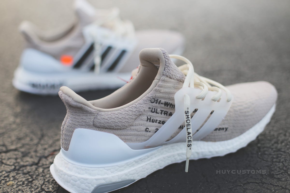 Image of OFF-White ultra boost custom