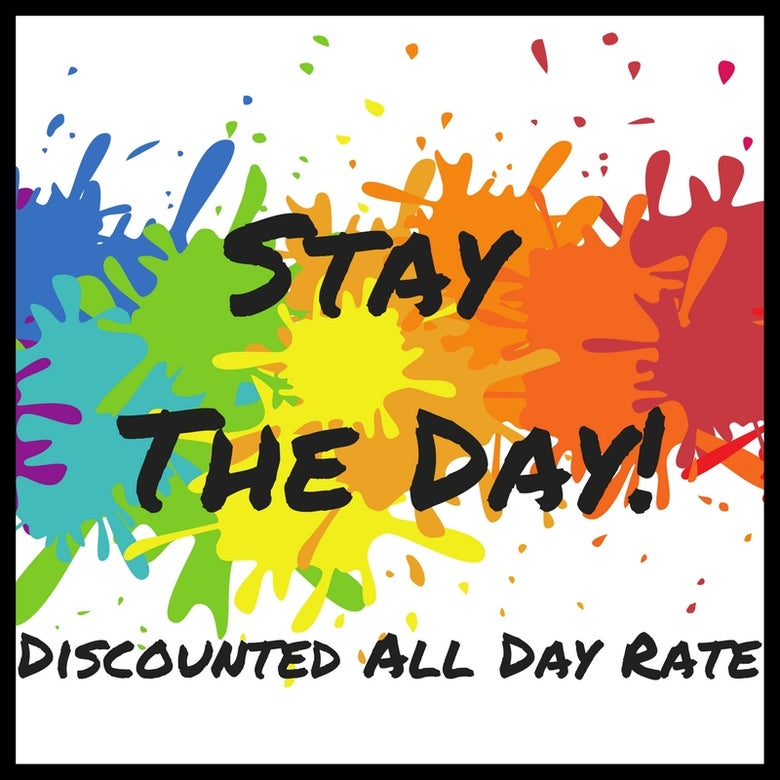 Image of Stay the day (ALL DAY RATE)