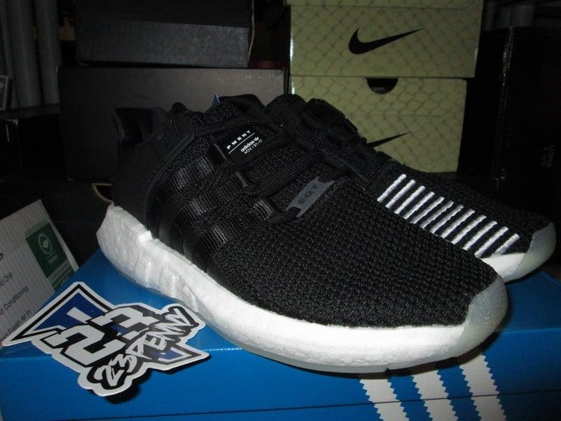 """Image of adidas EQT Support 93/17 """"Black/Gum"""""""