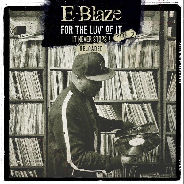 Image of For The Luv Of It Vol.2 Reloaded Vinyl (black vinyl)edition