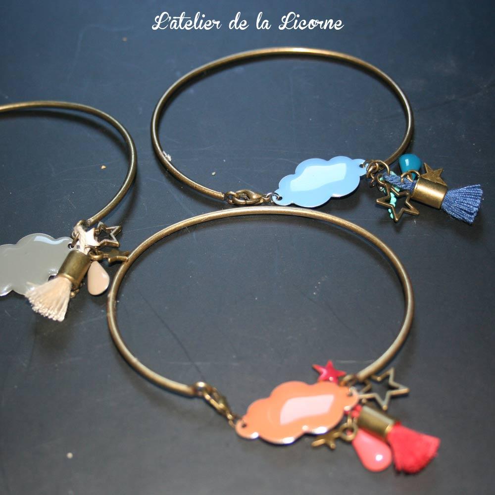 """Image of Bracelet """"Pluie d'Automne"""""""