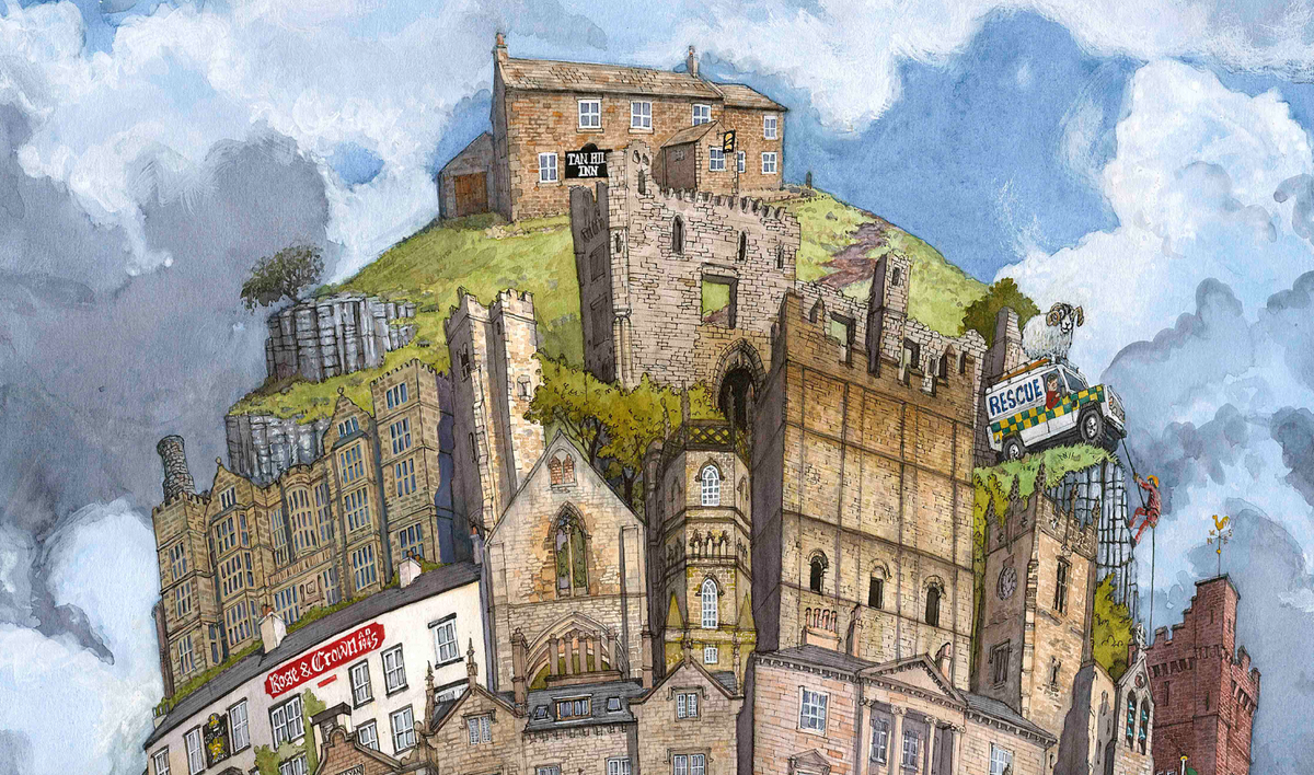 Image of The Tower of The Yorkshire Dales