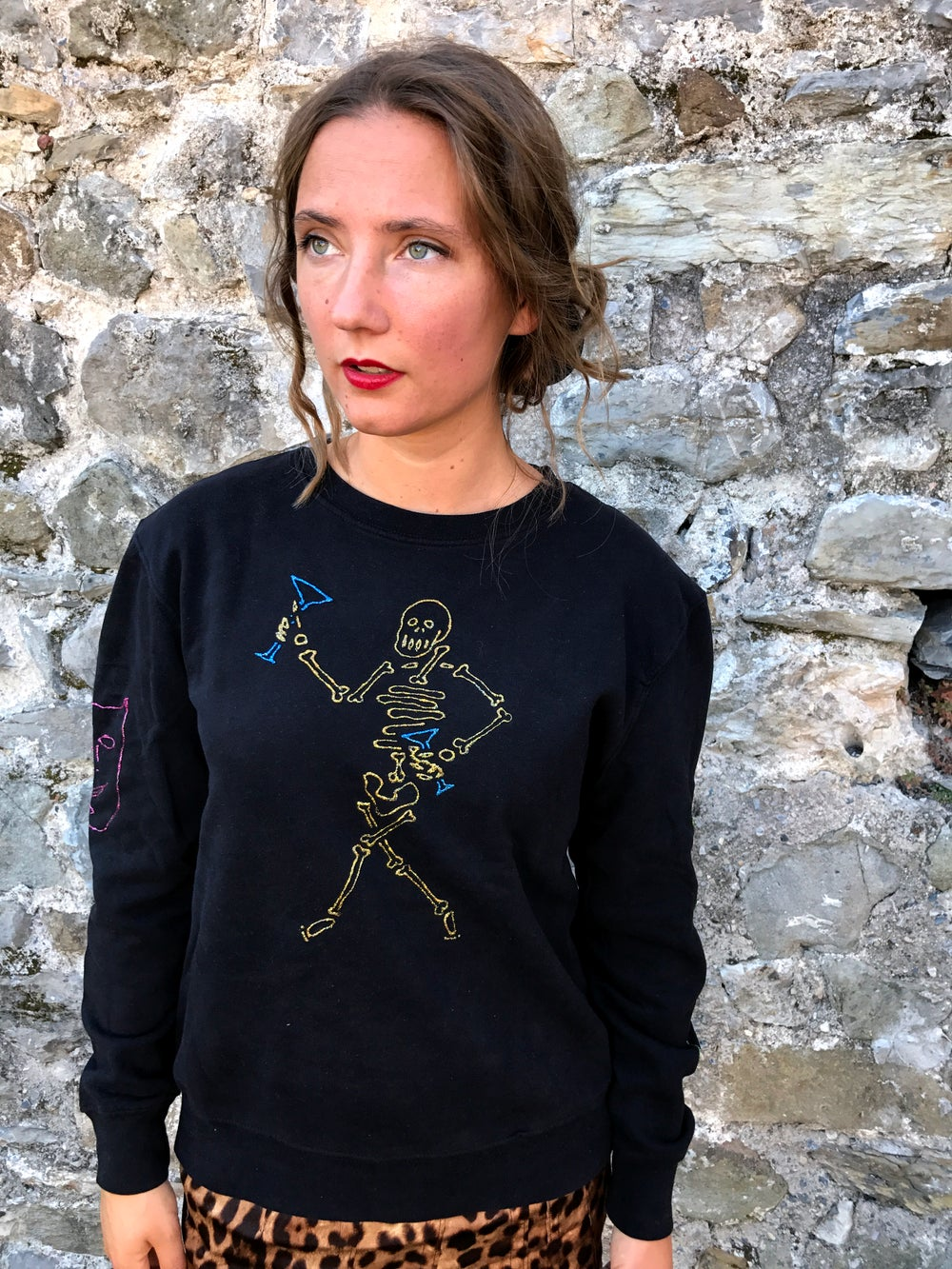 Image of Stage Persona, Hand-painted Sweatshirt