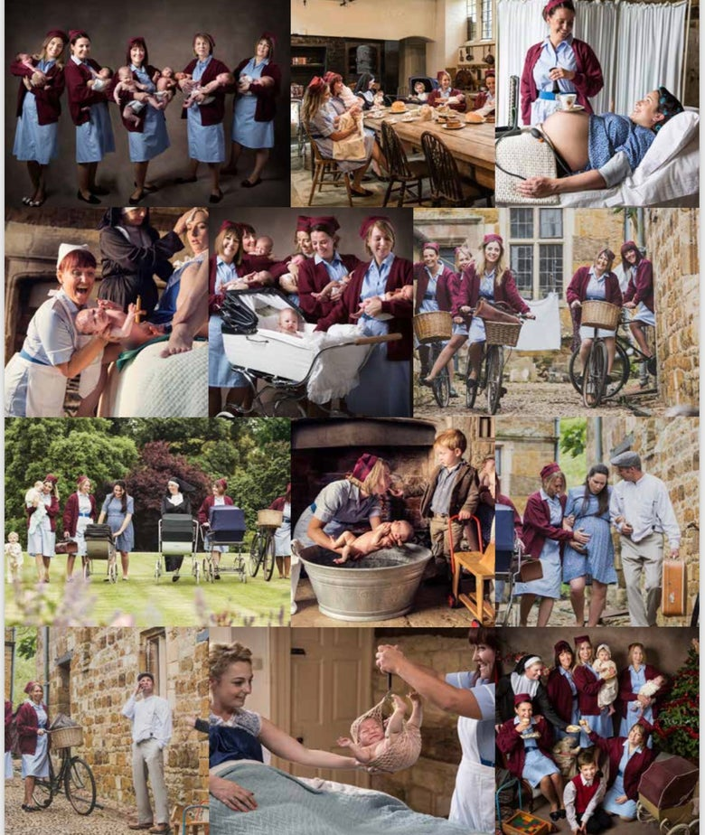 "Image of ""Call The Midwife"" 2018 calendar"