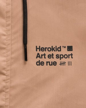 Image of Art et Sport de Rue · Brown Hooded Jacket