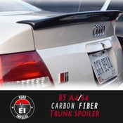 Image of Euro Impulse - B5 A4/S4 Carbon Fiber Duckbill Trunk Spoiler