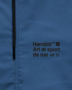 Image of Art et Sport de Rue · Blue Hooded Jacket