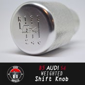 Image of Euro Impulse - B5 S4 Logo 6speed Weighted Shift Knob