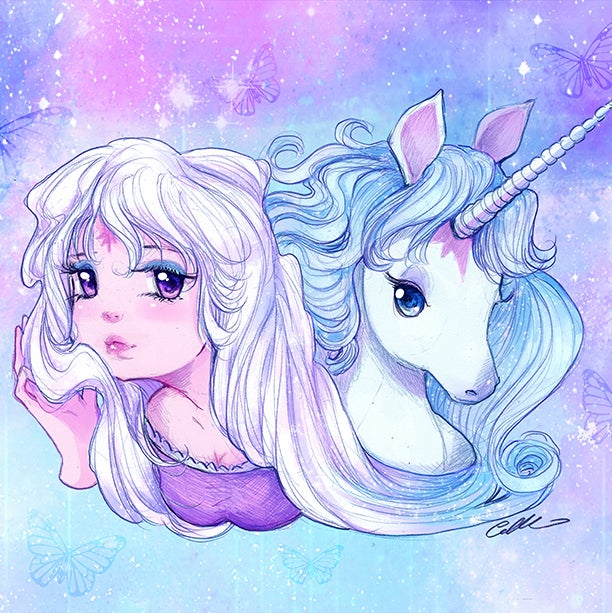 Image of The Last Unicorn Prints