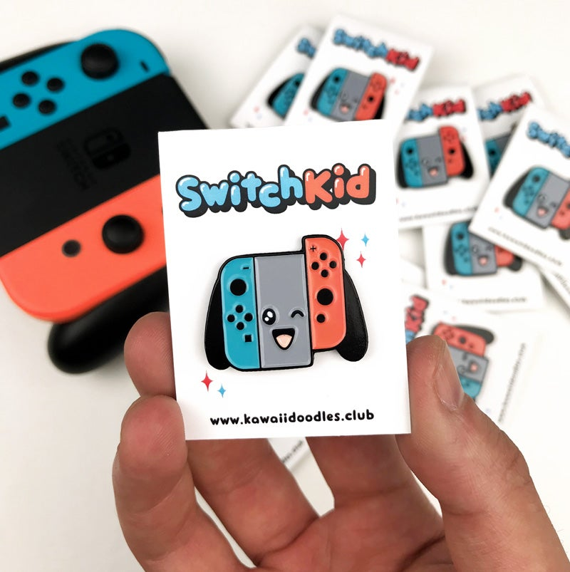 Image of Switch Kid Pin