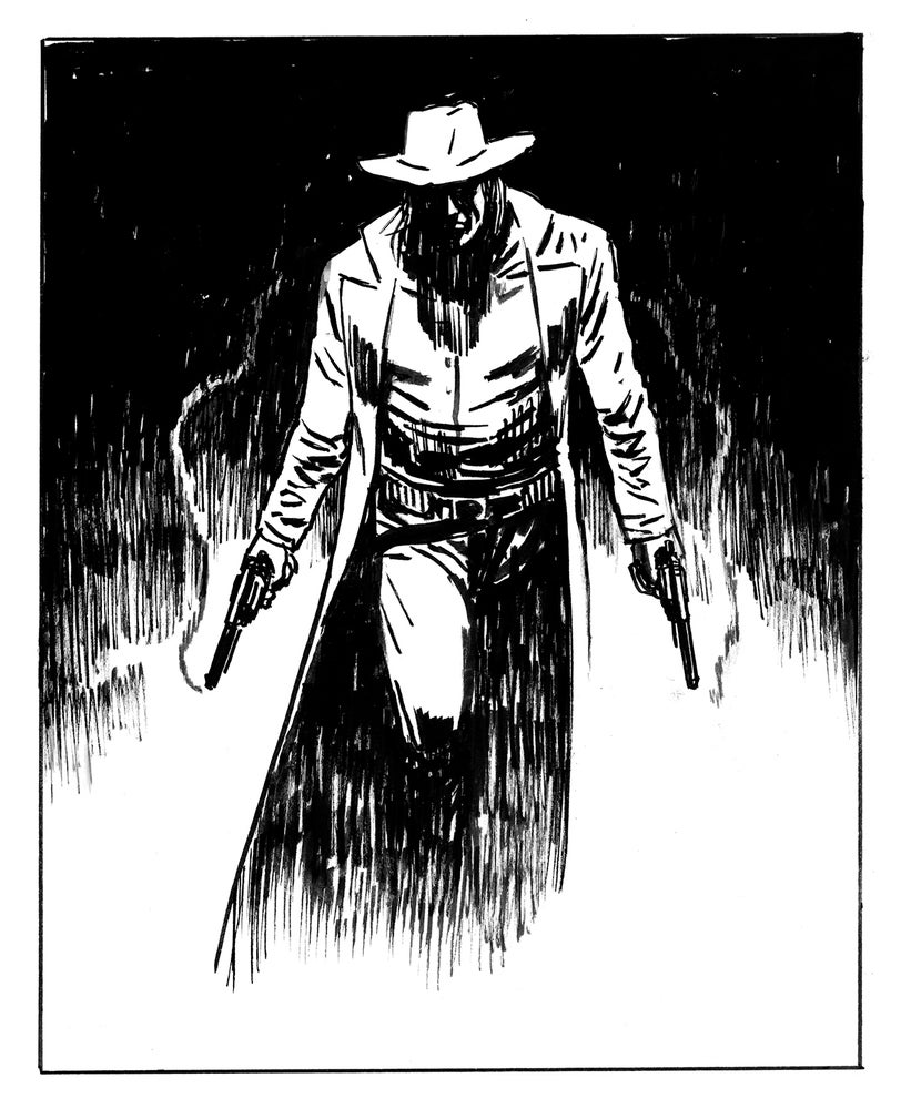 Image of Inktober: Saint of Killers