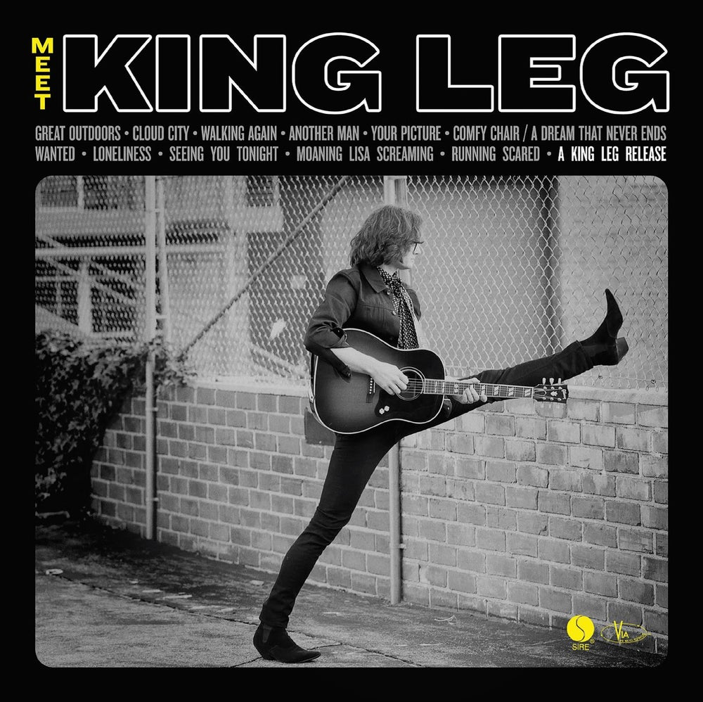 Image of 'Meet King Leg' CD