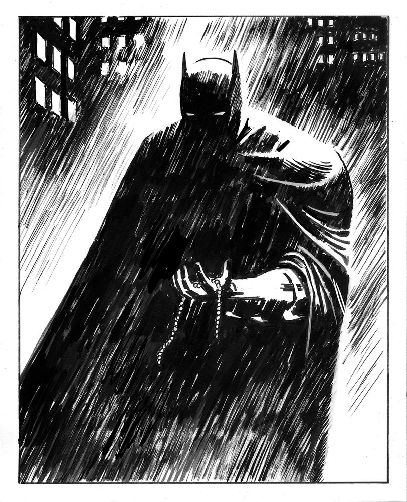 Image of Inktober: BATMAN