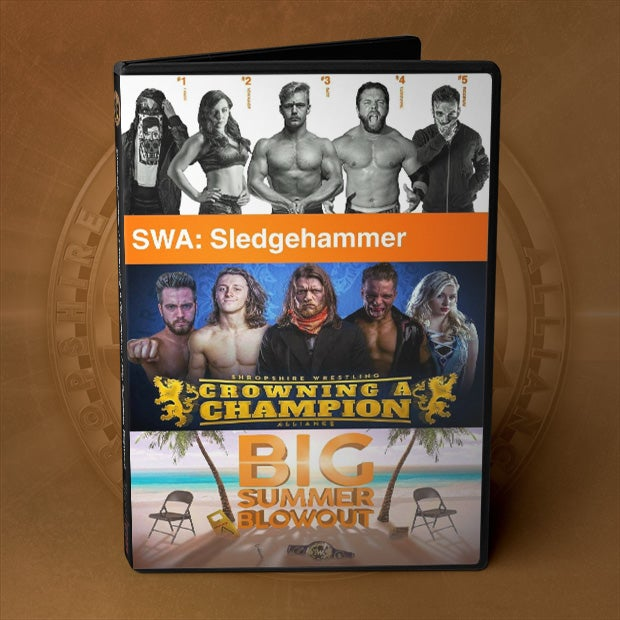 Image of SWA DVD Boxset - Sledgehammer, Crowning, Summer Blowout!