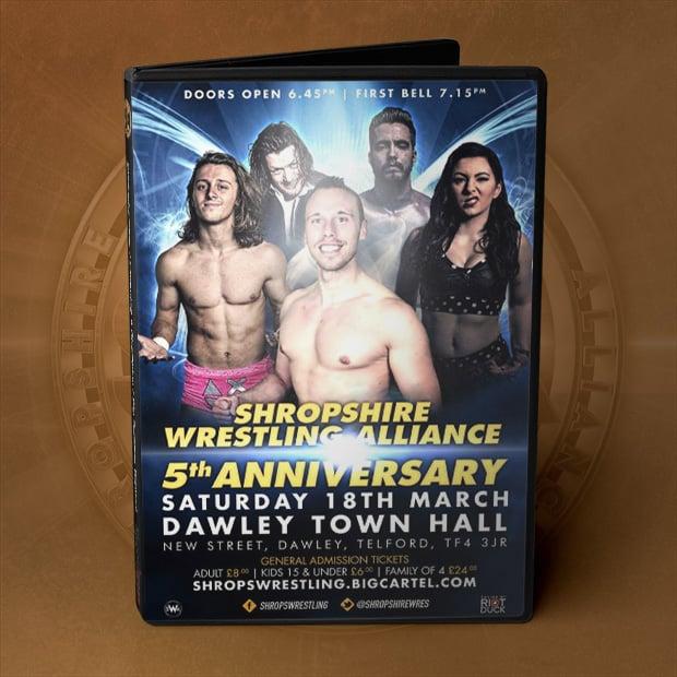 Image of SWA: Anniversary DVD