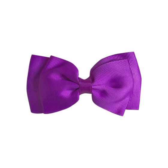 Image of Bright Violet Flat Bow