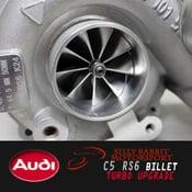 Image of Silly Rabbit Motorsport - C5 RS6 BILLET Hybrid Turbochargers