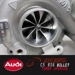 Image of Silly Rabbit Motorsport - C5 RS6 BILLET Hybrid Turbochargers