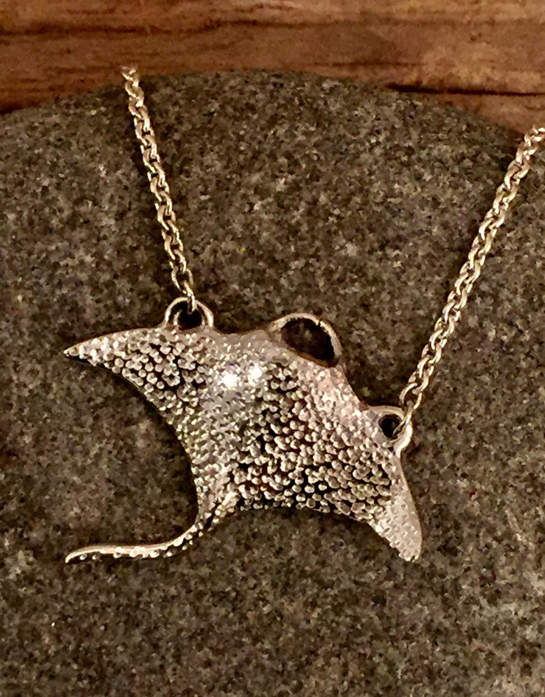 Image of Manta Ray Pendant