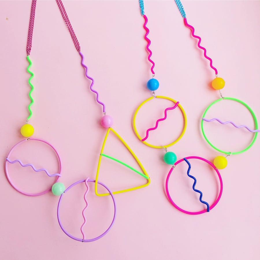 Image of Memphis necklaces