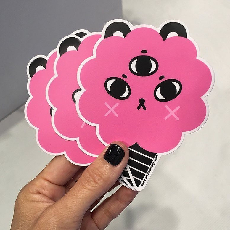 Image of Sugar Puff Stickers