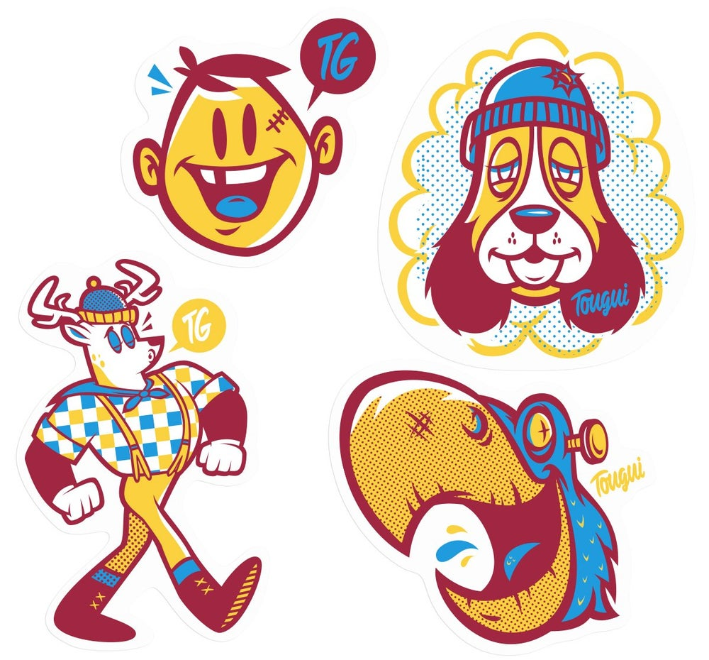 Image of LE STICKER PACK #5