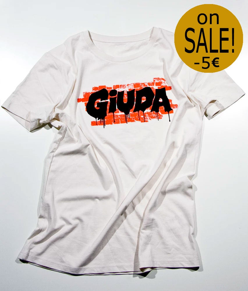 Image of T-shirt Giuda Speaks Evil Logo