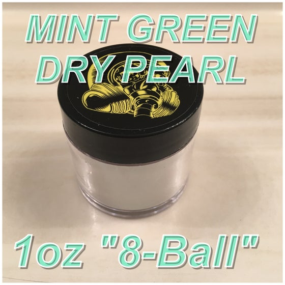 "Image of MINT GREEN - DRY PEARL ""8Ball"" 1 oz."