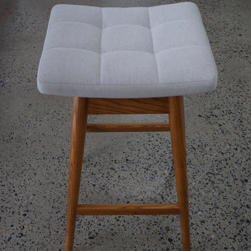Image of TH Brown Martelle Stool ~ Light Ash ~