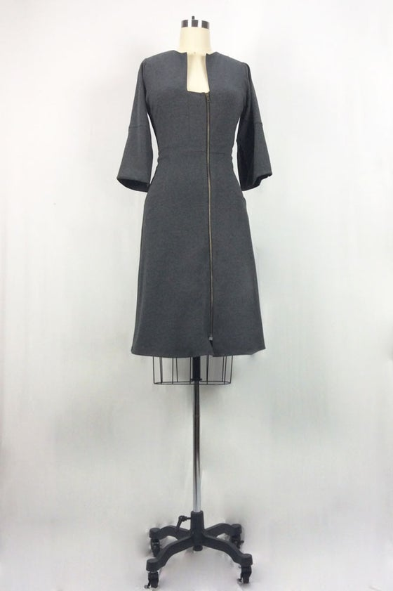 Image of Dorian Dress (Gray)